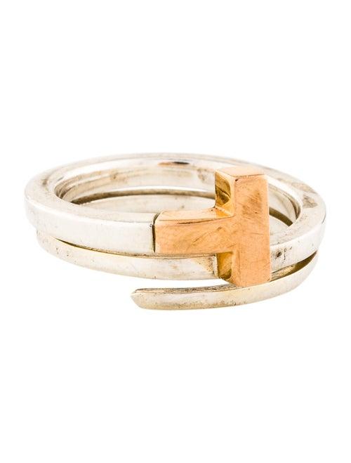 947703686 Tiffany & Co. Tiffany T Square Wrap Ring - Rings - TIF84451   The ...