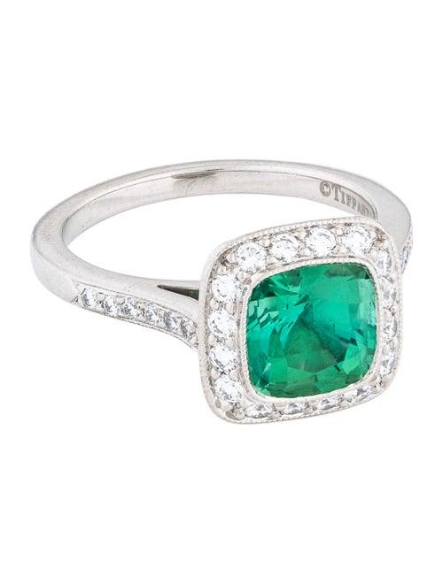 4bc996cf6 Tiffany & Co. Platinum Tourmaline & Diamond Legacy Ring - Rings ...