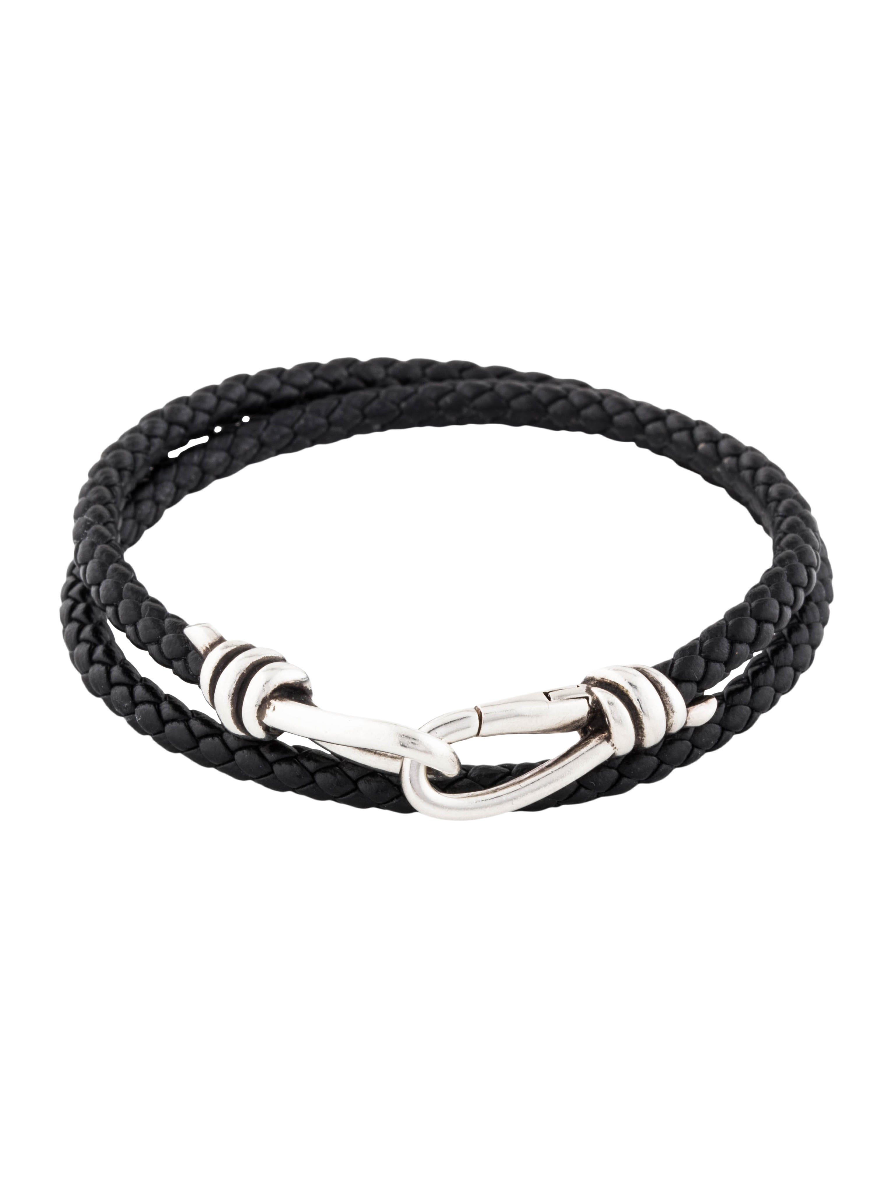ca026c0b9 Tiffany & Co. Knot Double Braid Wrap Bracelet - Bracelets - TIF89180 ...