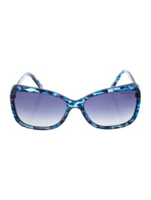 88cacd255d95 Tiffany   Co. Marbled Square Sunglasses