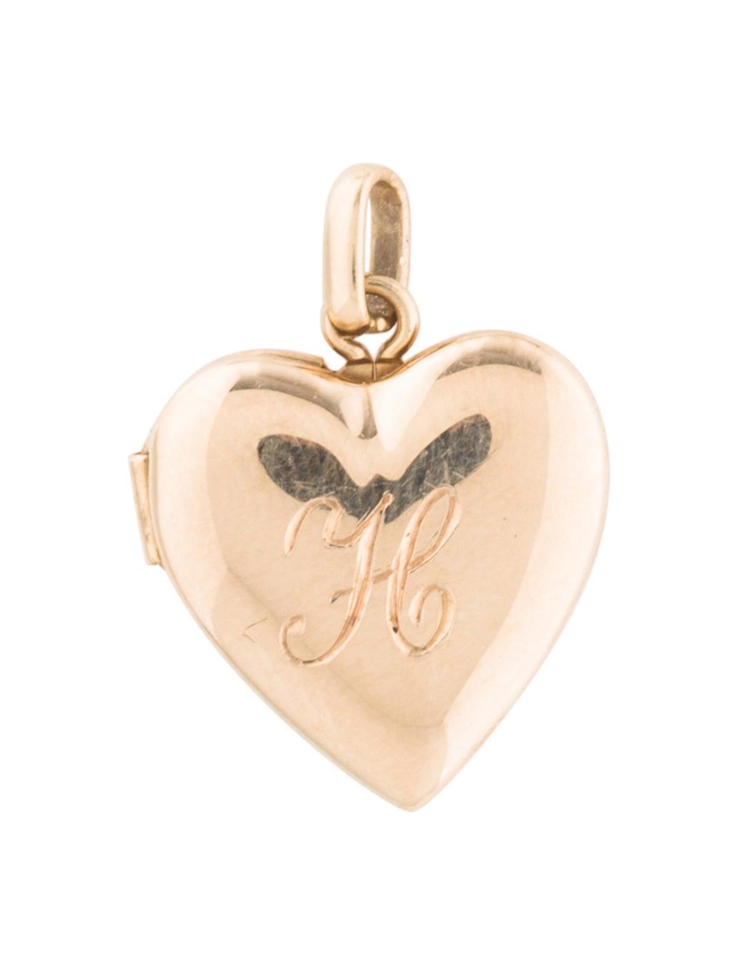 130e42ecd Tiffany & Co. 14K Heart Locket Charm - Charms - TIF92536 | The RealReal