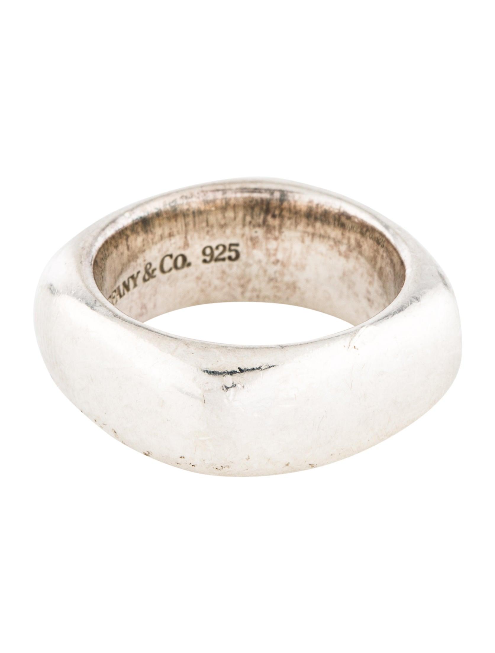 7deb1302c Tiffany & Co. Square Cushion Band - Rings - TIF94561   The RealReal