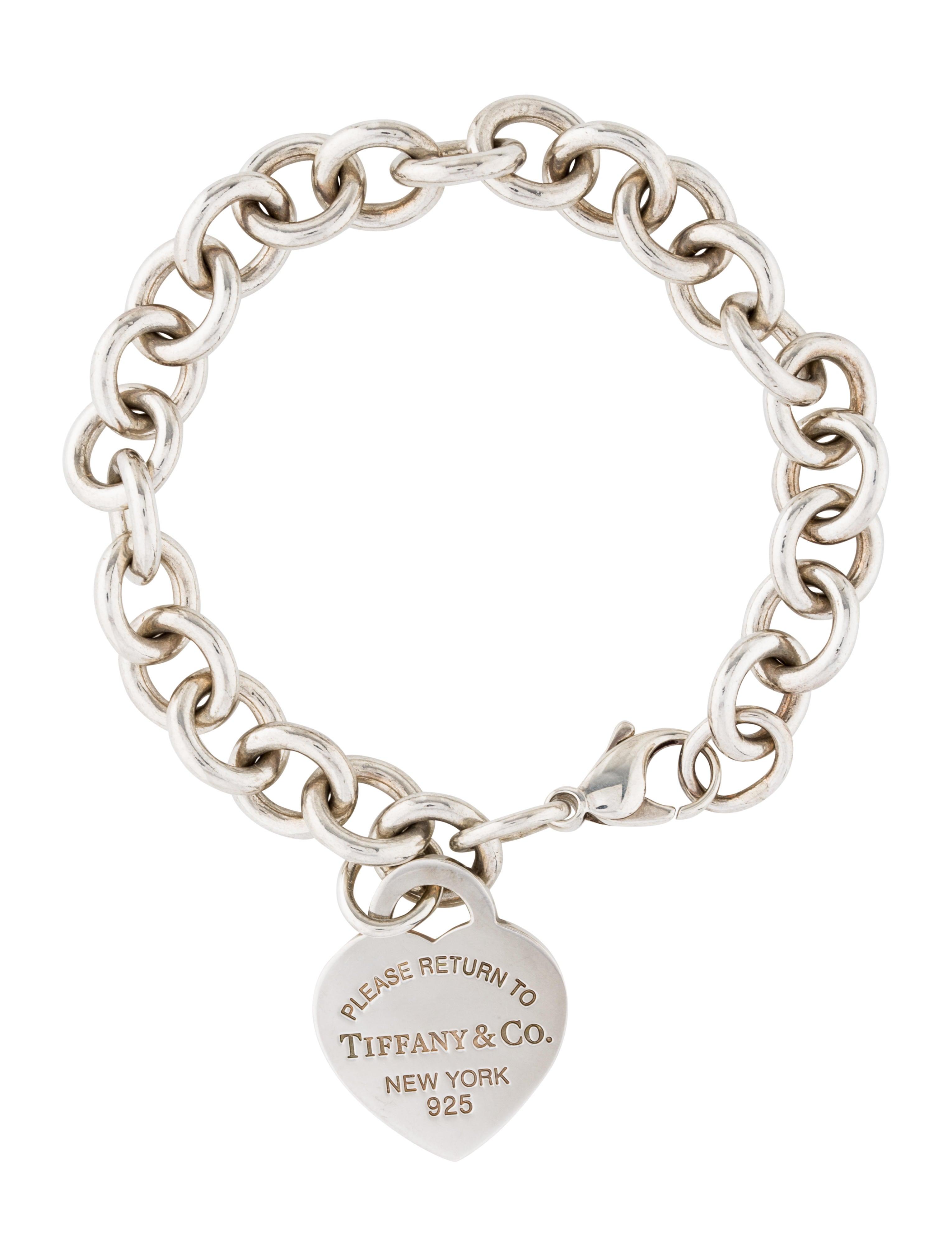8f710423a8a Tiffany   Co. Return To Tiffany Heart Tag Charm Bracelet - Bracelets ...