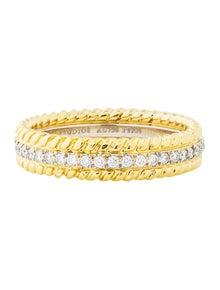 09387988e Schlumberger Sixteen Stone Ring. Size: 5. Est. Retail $9,400.00. $4,695.00  · Tiffany & Co. Diamond Eternity Band