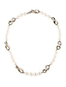 huge discount dda7b 4a42e Tiffany   Co. Pearl Infinity Necklace