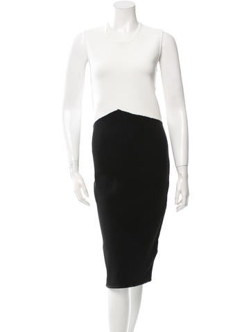 Timo Weiland Colorblock Midi Dress None