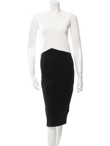 Timo Weiland Colorblock Midi Dress None