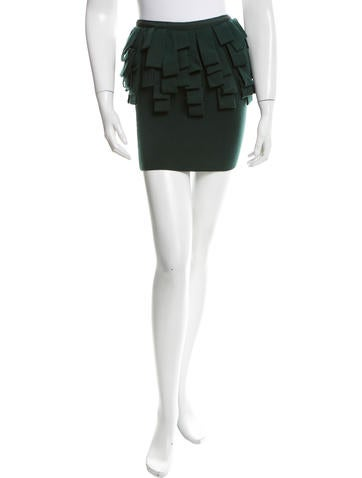 Timo Weiland Knit MIni Skirt None