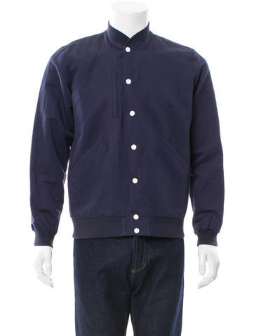 Timo Weiland Woven Bomber Jacket None