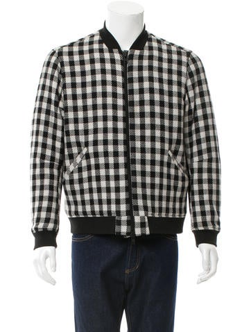 Timo Weiland Wool Bomber Jacket None