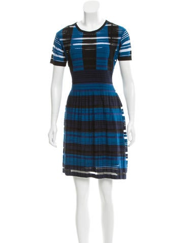 Timo Weiland Pleat-Accented Mini Dress None
