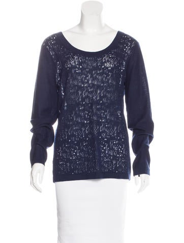 Timo Weiland Open-Knit Wool Sweater None