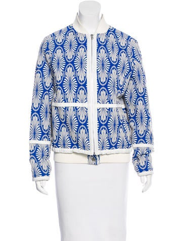 Timo Weiland Jacquard Bomber Jacket None