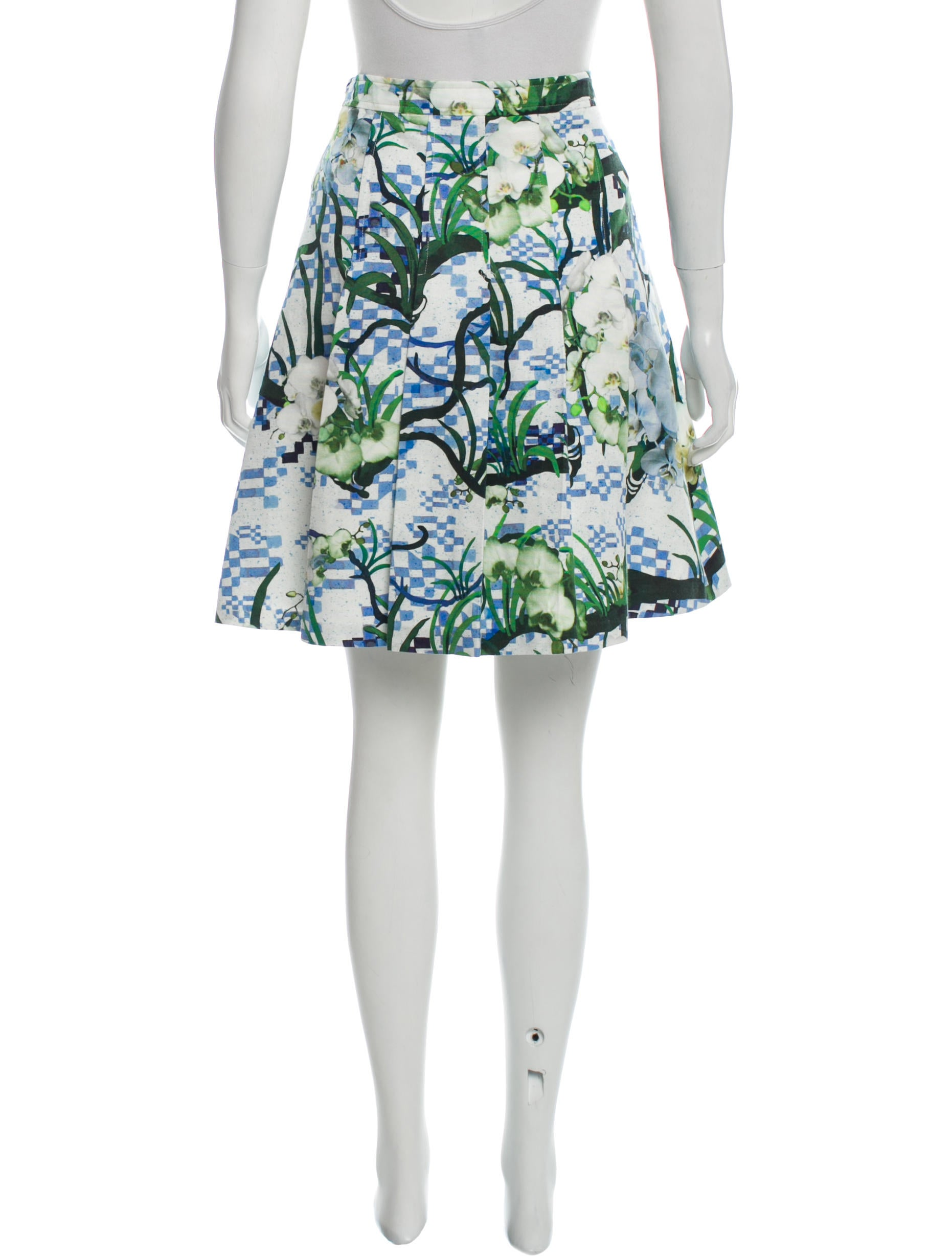 timo weiland printed a line skirt w tags clothing