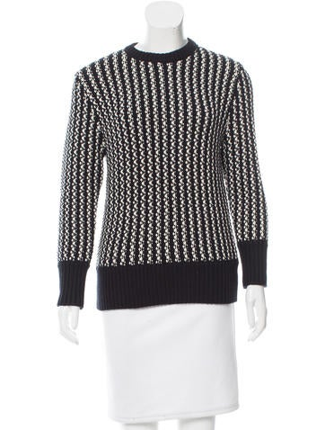 Timo Weiland Wool Long Sleeve Sweater None