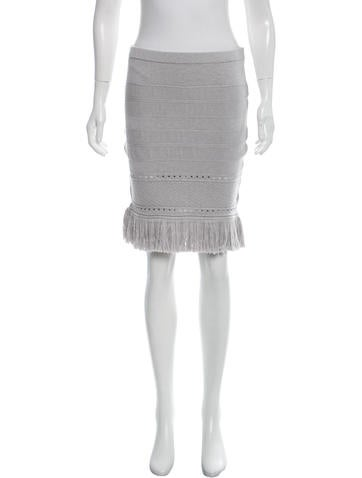 Timo Weiland Girls' Fringe-Trimmed Skirt None