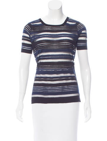 Timo Weiland Striped Knit Top None