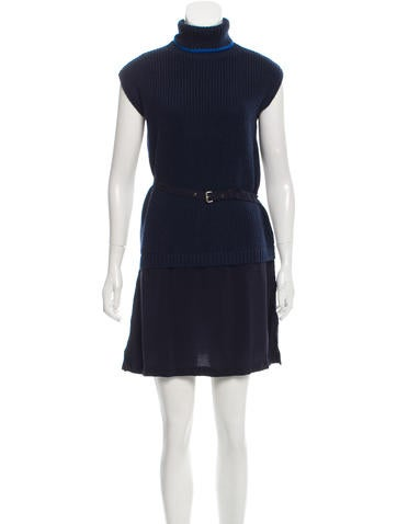 Timo Weiland Wool Turtleneck Dress w/ Tags None