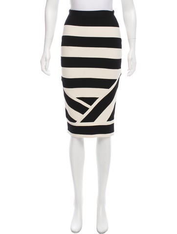 Timo Weiland Knit Knee-Length Skirt None