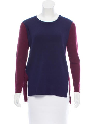 Timo Weiland Wool Colorblock Sweater w/ Tags None