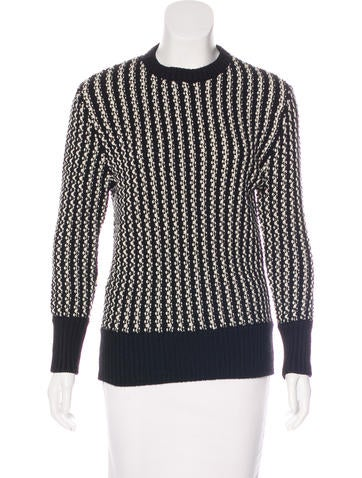 Timo Weiland Cable Knit Wool Sweater None
