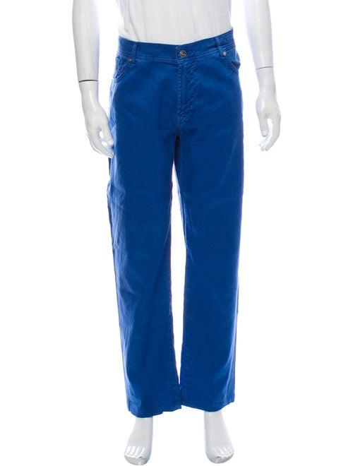 Tincati Linen Pants Blue