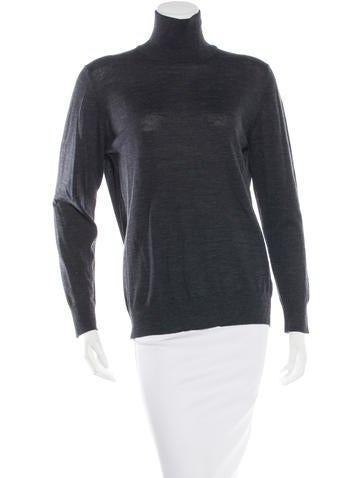 Tomas Maier Wool Turtleneck Top None