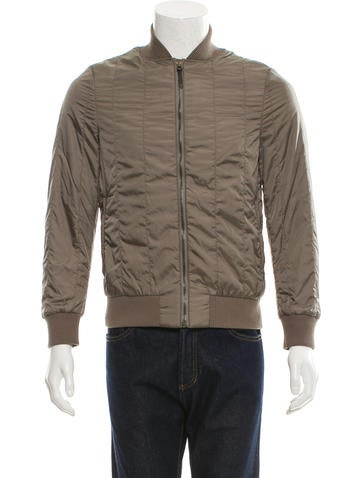 Tomas Maier Quilted Bomber Jacket None