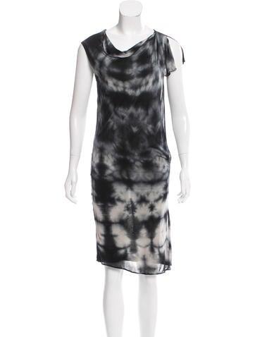Tomas maier tie dye print sleeveless dress clothing for Tie dye sleeveless shirts