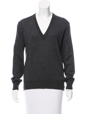 Tomas Maier Wool Long Sleeve Top None