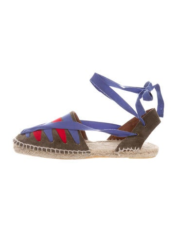 Tomas Maier Wrap-Around Suede Espadrilles clearance in China really sale online for sale finishline free shipping high quality rTa6paPXJ