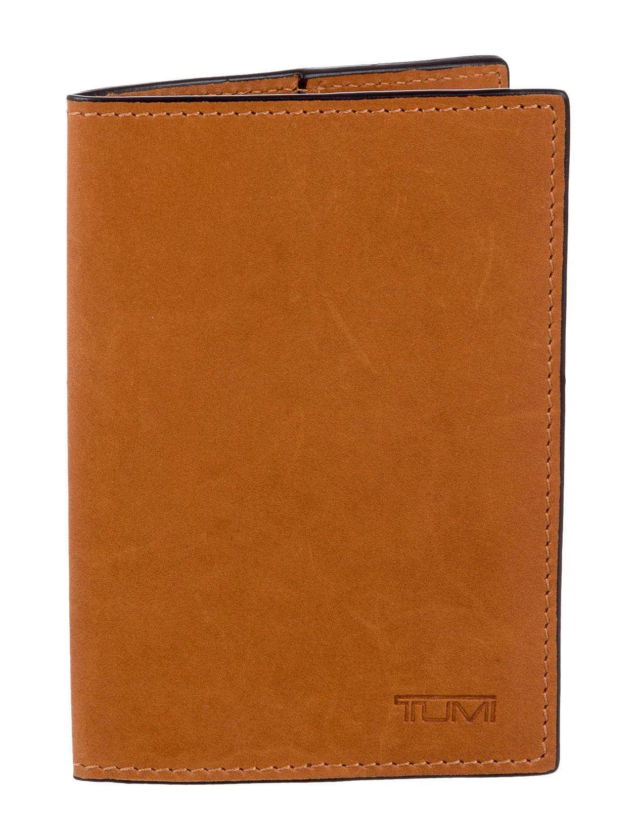 Tumi Leather Passport Holder - Accessories - TMI21459 | The RealReal