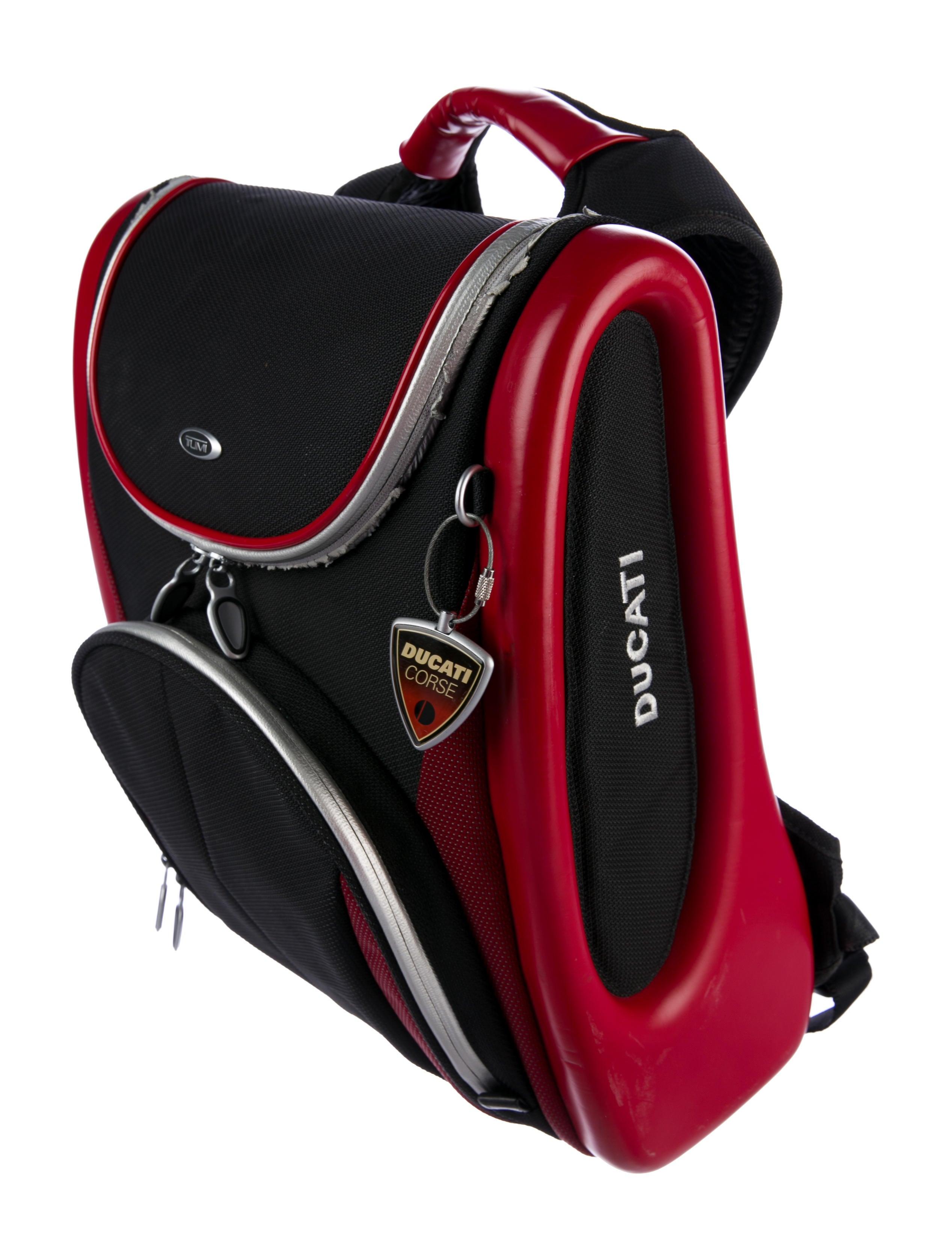 Tumi T3 Ducati Backpack - Bags - TMI21732 | The RealReal
