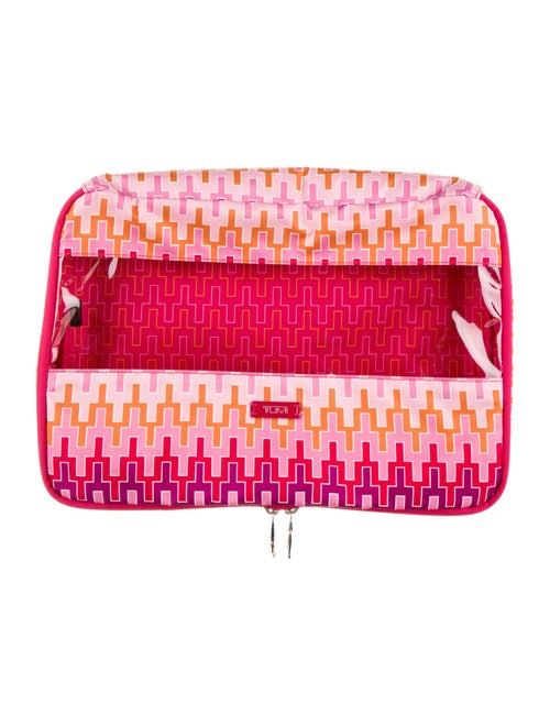 Tumi Travel Cosmetic Bag Pink