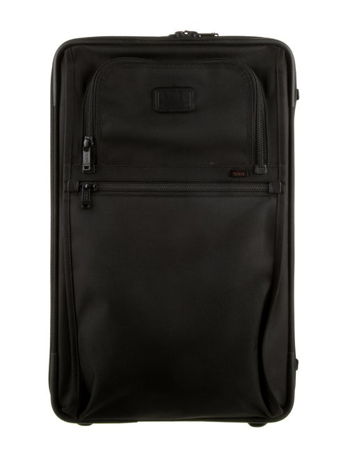 Tumi Canvas Carry On Bag Black
