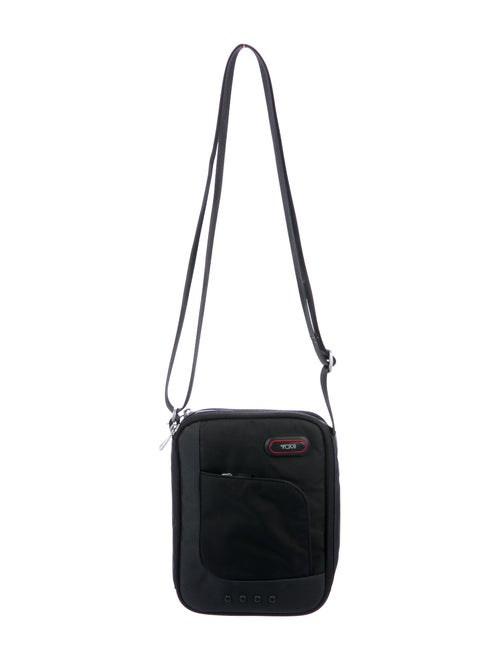Tumi Canvas Crossbody Bag Black