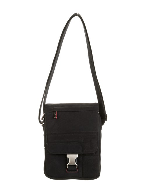 Tumi Nylon Messenger Bag Black