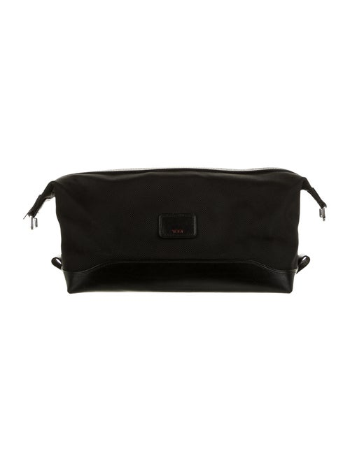 Tumi Canvas Cosmetic Bag Black