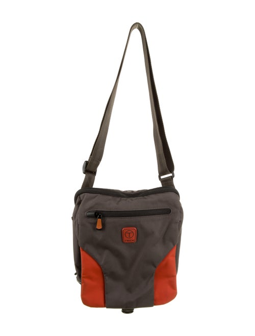 Tumi Nylon Messenger Bag Grey