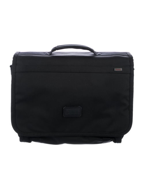 Tumi Canvas Messenger Bag Black