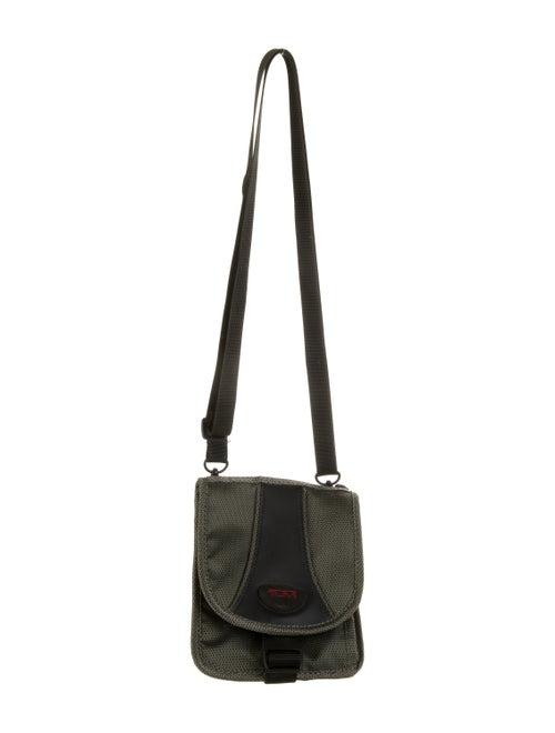 Tumi Nylon Crossbody Bag Green