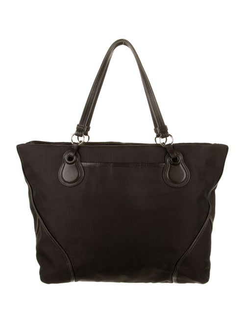 Tumi Canvas Tote Bag Brown