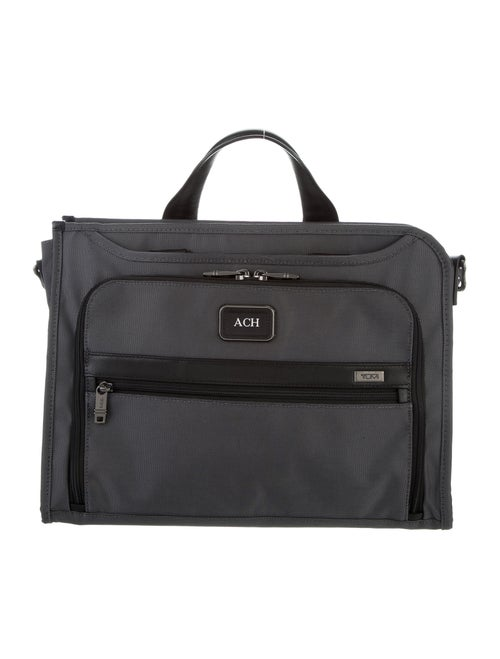 Tumi Canvas Laptop Bag grey
