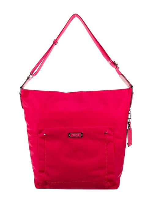 Tumi Nylon Shoulder Bag Pink - image 1
