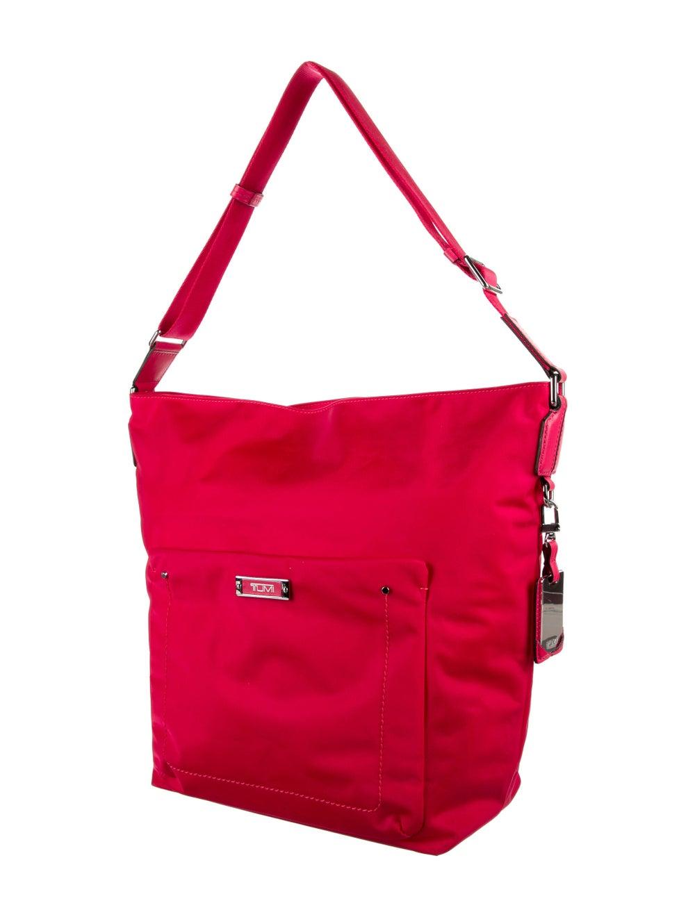 Tumi Nylon Shoulder Bag Pink - image 3