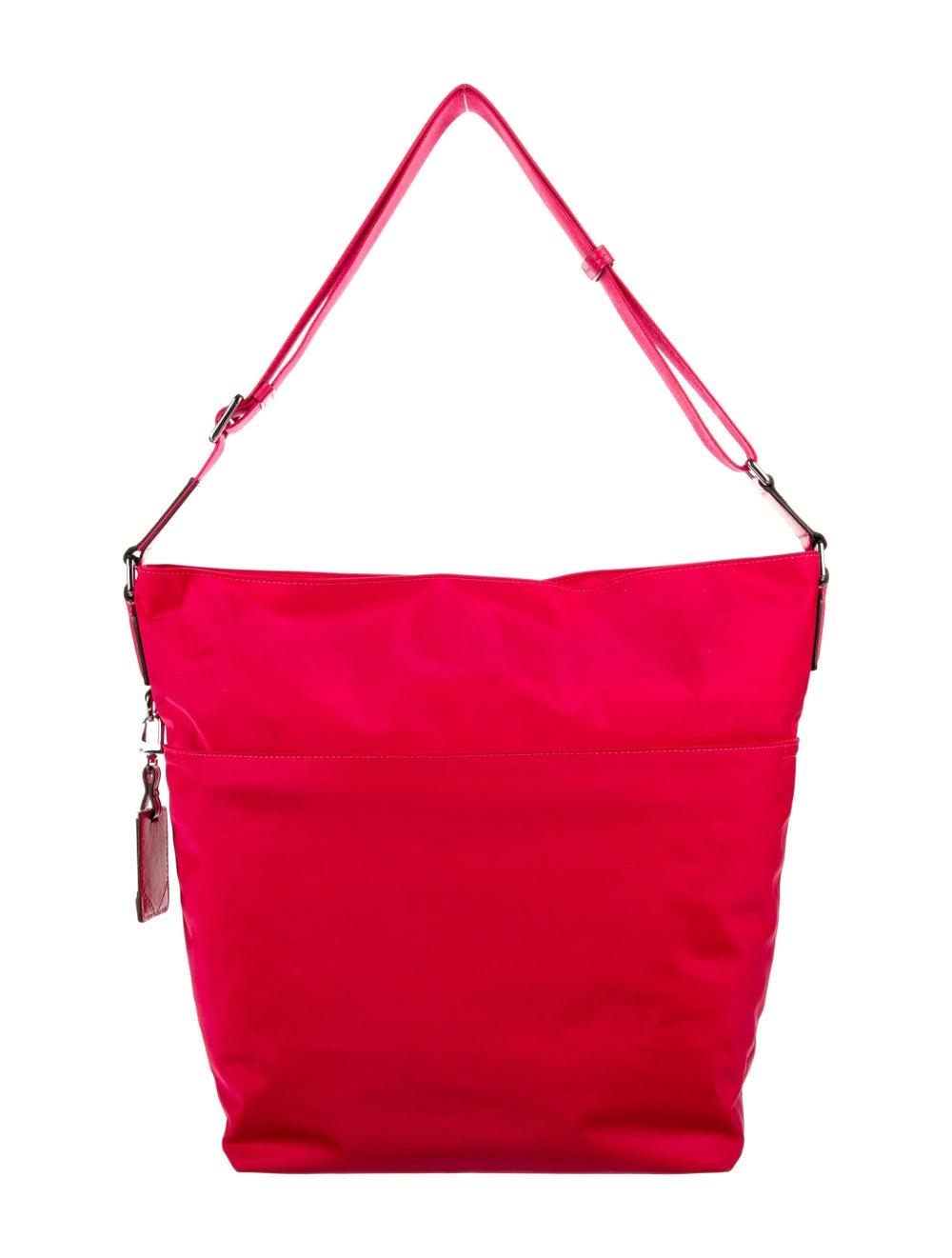 Tumi Nylon Shoulder Bag Pink - image 4
