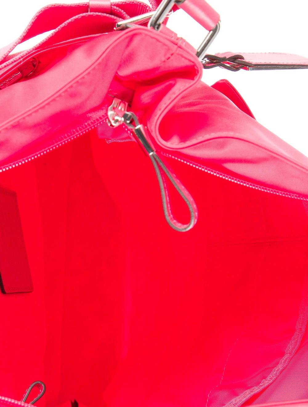 Tumi Nylon Shoulder Bag Pink - image 5