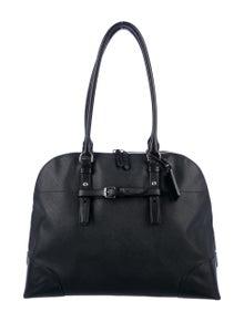Tumi Saffiano Leather Shoulder Bag