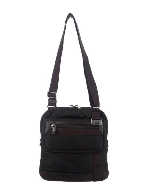 Tumi Canvas Crossbody Bag Black