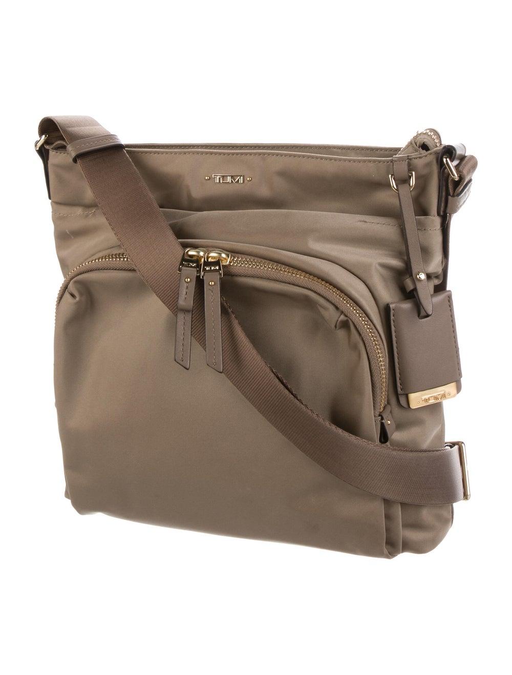 Tumi Nylon SHoulder Bag Gold - image 3
